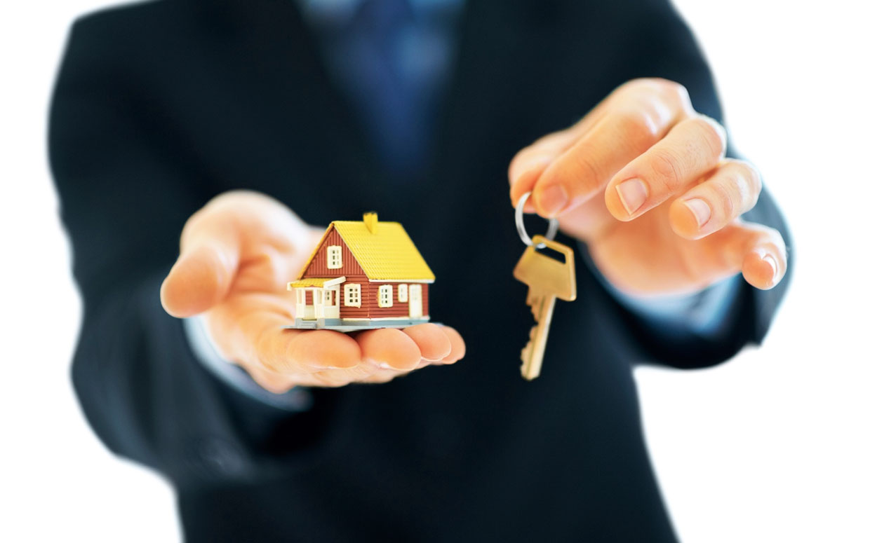 house model and keys