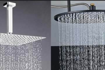 ceiling mounted showerheads