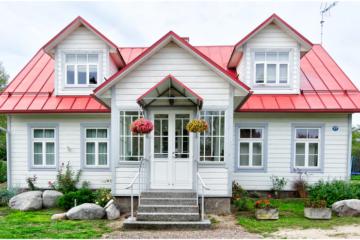 custom built house
